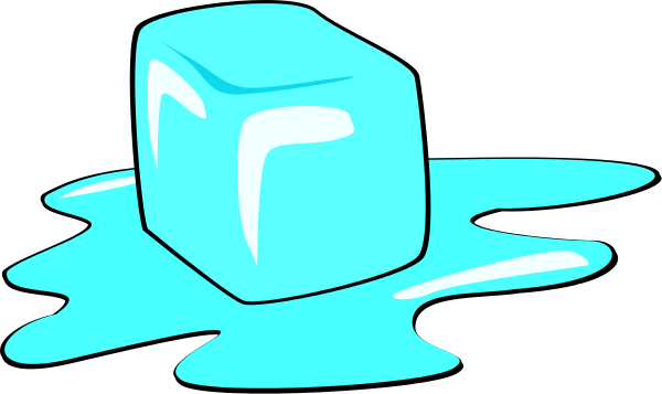 600x357 Melting Ice Cube Clip Art