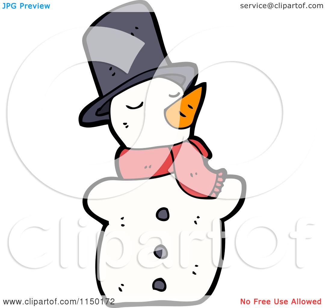 1080x1024 Cute Melting Snowman Clipart