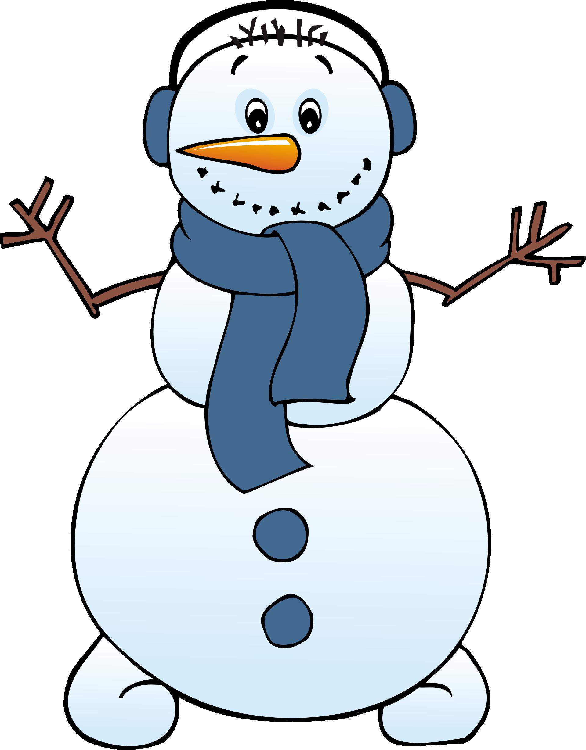 1920x2459 Free Clipart Snowman