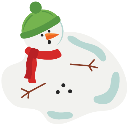 432x432 Graphics For Melting Snowman Graphics