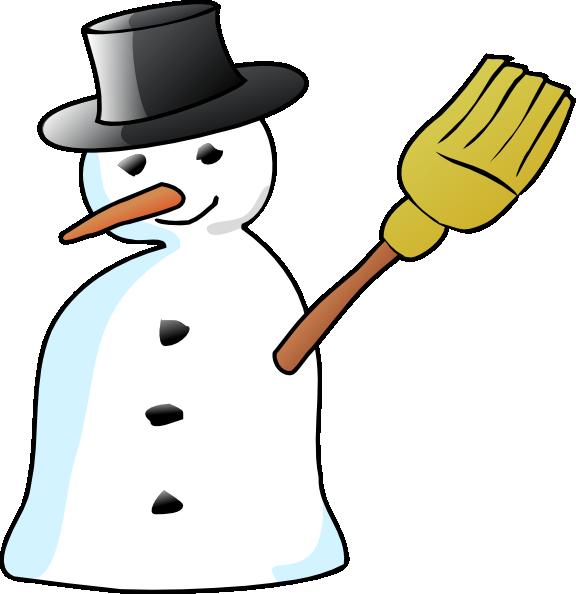 576x594 Snowman Clip Art