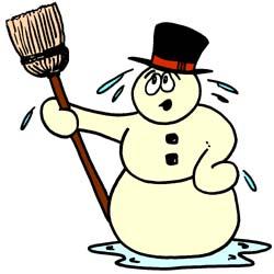 250x250 Snowman Clipart