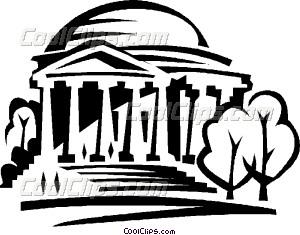 300x235 Monument Clipart Jefferson