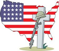190x167 Memorial Day Clip Art Flag Pictures, Images, Borders 2013