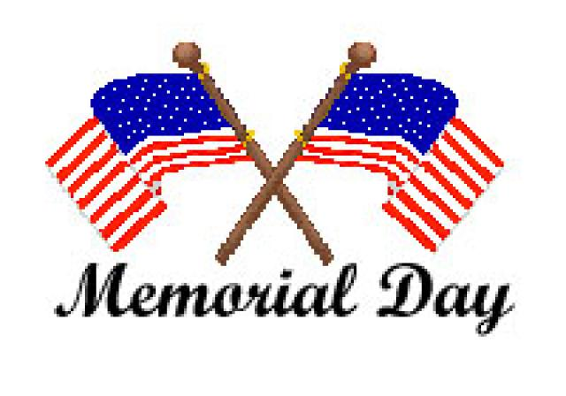 640x448 Memorial Day Clipart