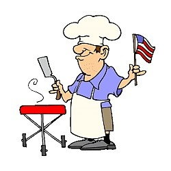 250x250 Barbecue Clipart Memorial Day