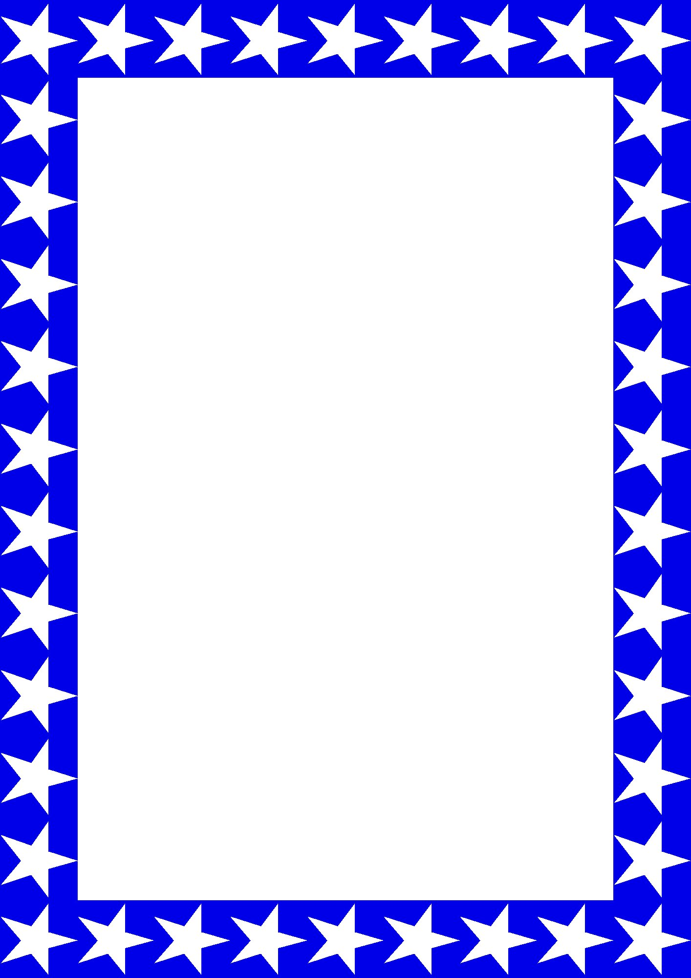 1414x2000 Free Borders Memorial Day Borders Clipart