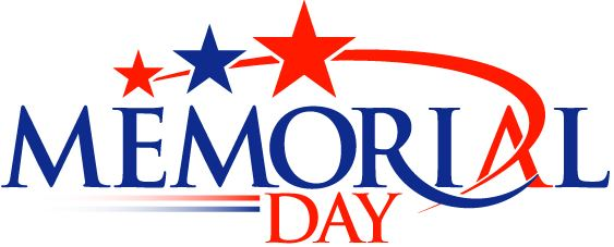 563x227 Black And White Memorial Day Clipart Banners Borders Background