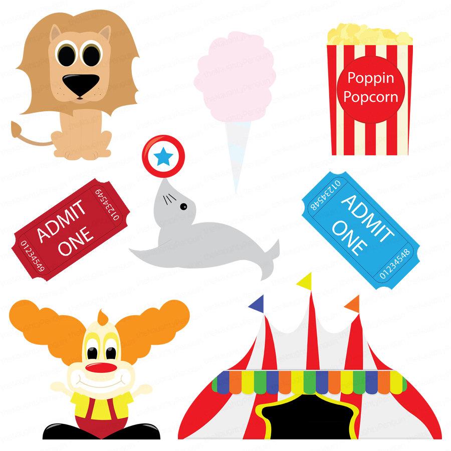 900x900 Circus Clip Art Free Clipart