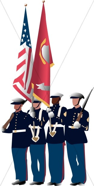 312x612 Soldiers clipart memorial day