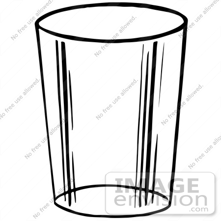 450x450 Cup Of Water Clipart Black And White Clipart Panda