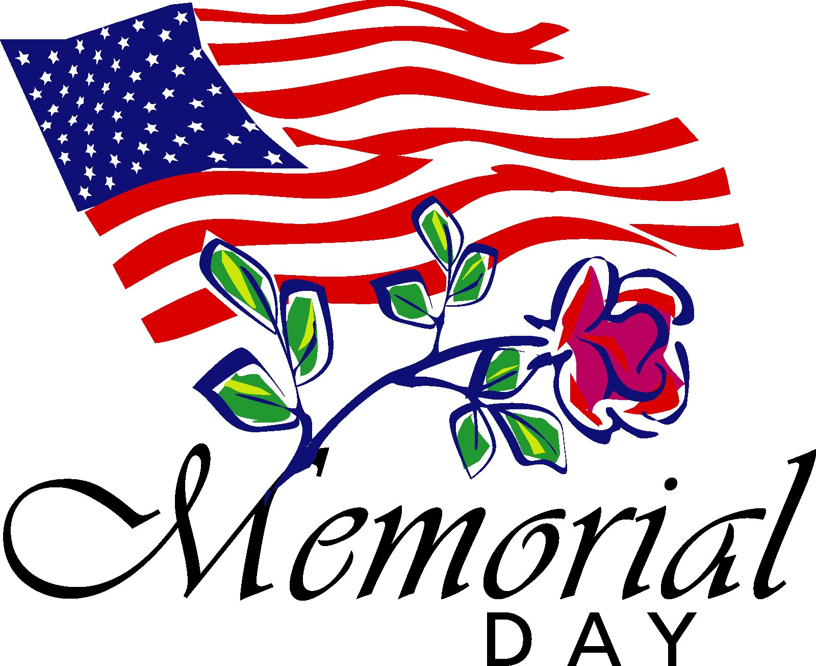 1600x1305 Memorial Day Clip Art Black And White Clipartfest