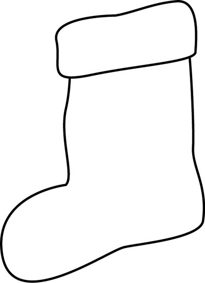 400x550 Stockings Clipart
