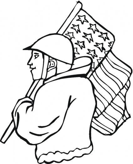 425x525 Free Veterans Day Clip Art To Color Over 400 Free Printable