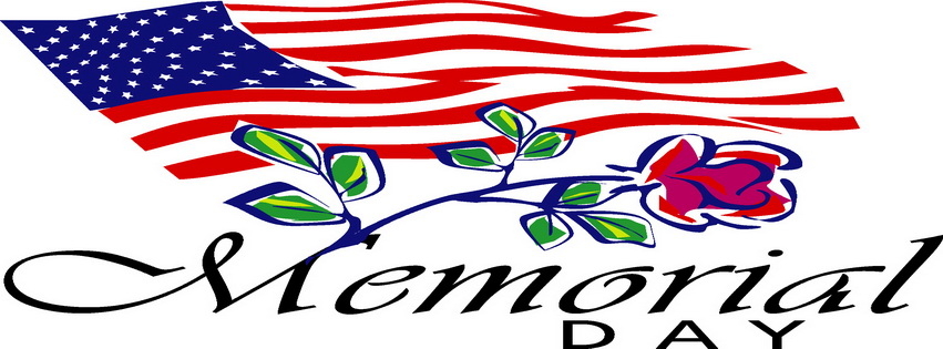 851x315 Happy Memorial Day Clipart Free Images