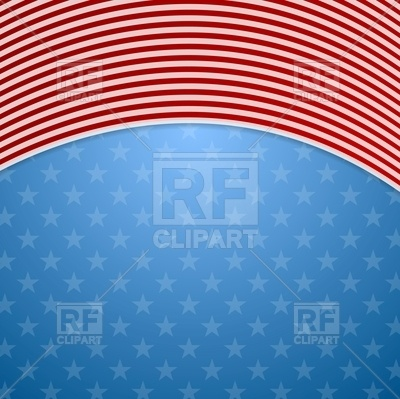 400x399 Memorial Day Abstract Usa Flag Colors Background Royalty Free