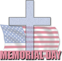 217x212 Free Christian Memorial Day Clipart
