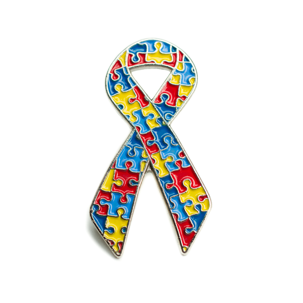 1000x1000 Autism Awareness Ribbon Pinautism Puzzle Lapel Pinautism