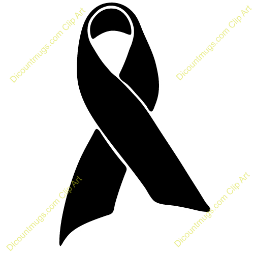 500x500 Cancer Awareness Ribbon Clipart
