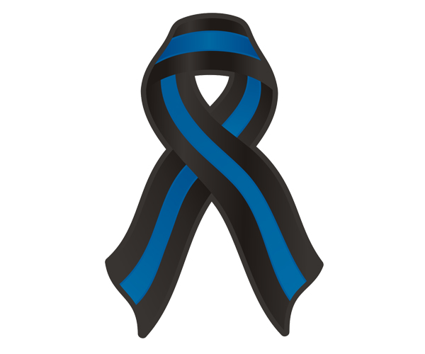 600x500 Graphics For Police Memorial Ribbon Graphics