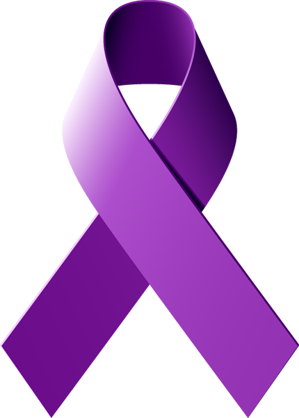 430x600 Learn What A Purple Awareness Ribbon Represents Cancer Awareness
