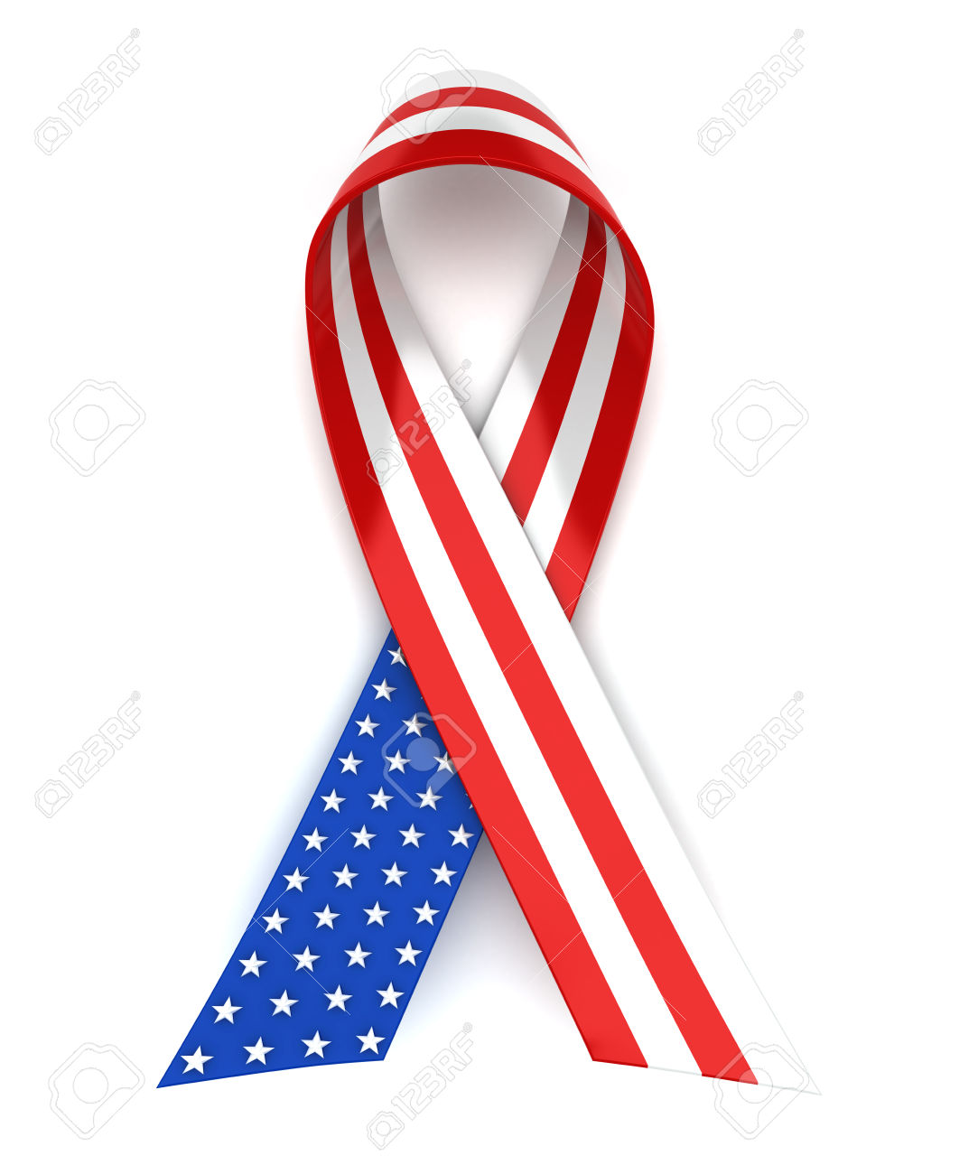 1083x1300 Ribbon Clipart Memorial Day