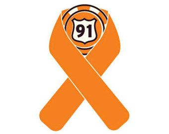 340x270 Route 91 Memorial Ribbon Survivor Decal