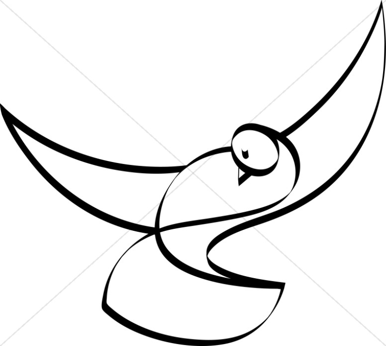 776x694 Dove Black And White Christian Clipart Dove Clipart