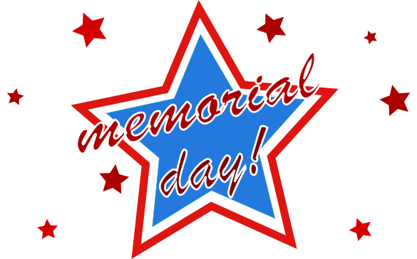 585x364 Happy Memorial Day And Thank You For Your Service Clipart
