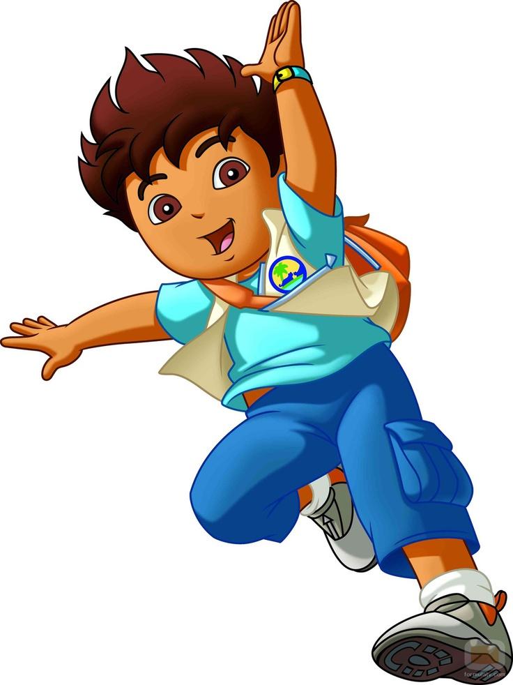 736x982 Diego Marquez, Go, Diego, Go! Clipart Panda