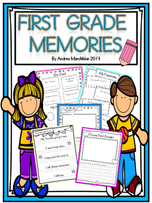300x400 End Of Year Memory Book First Grade