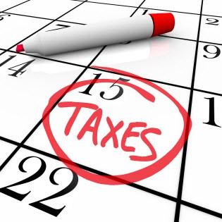 315x315 Tax Day April 18 Clipart
