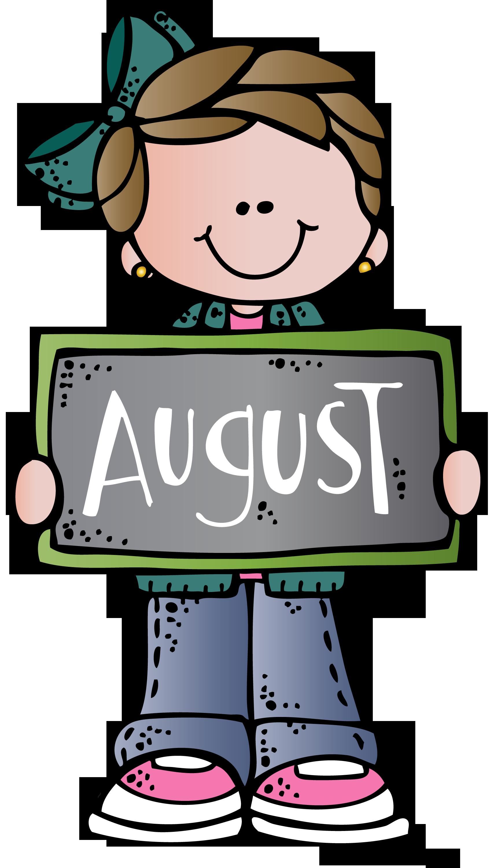 1715x3000 August Mel Melonheadz At School Clip Art, School