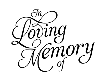 400x300 In Loving Memory Clipart, Free In Loving Memory Clipart