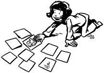 216x152 Memory Game Clipart