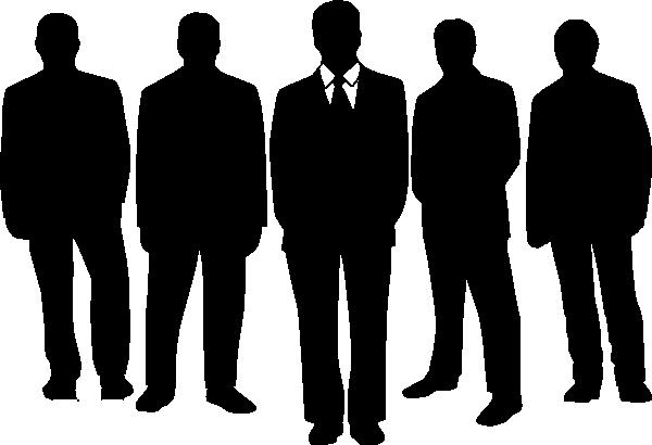600x410 Men In Black Clip Art