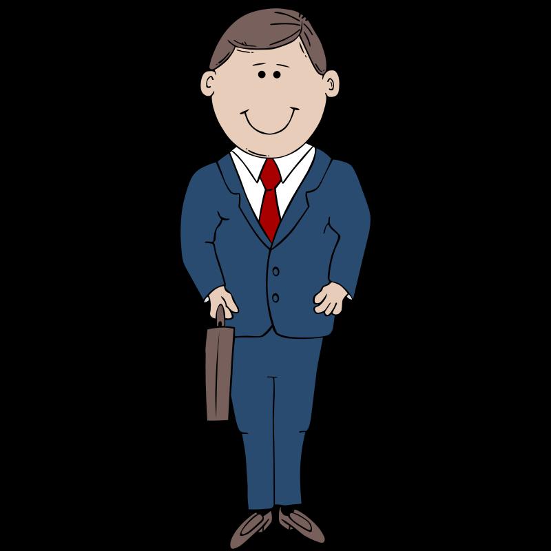 800x800 Men Clipart Suit Cartoon