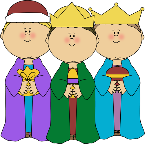 500x496 Three Wise Men Clip Art