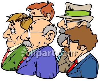 350x285 Clip Art Group Of Men Clipart