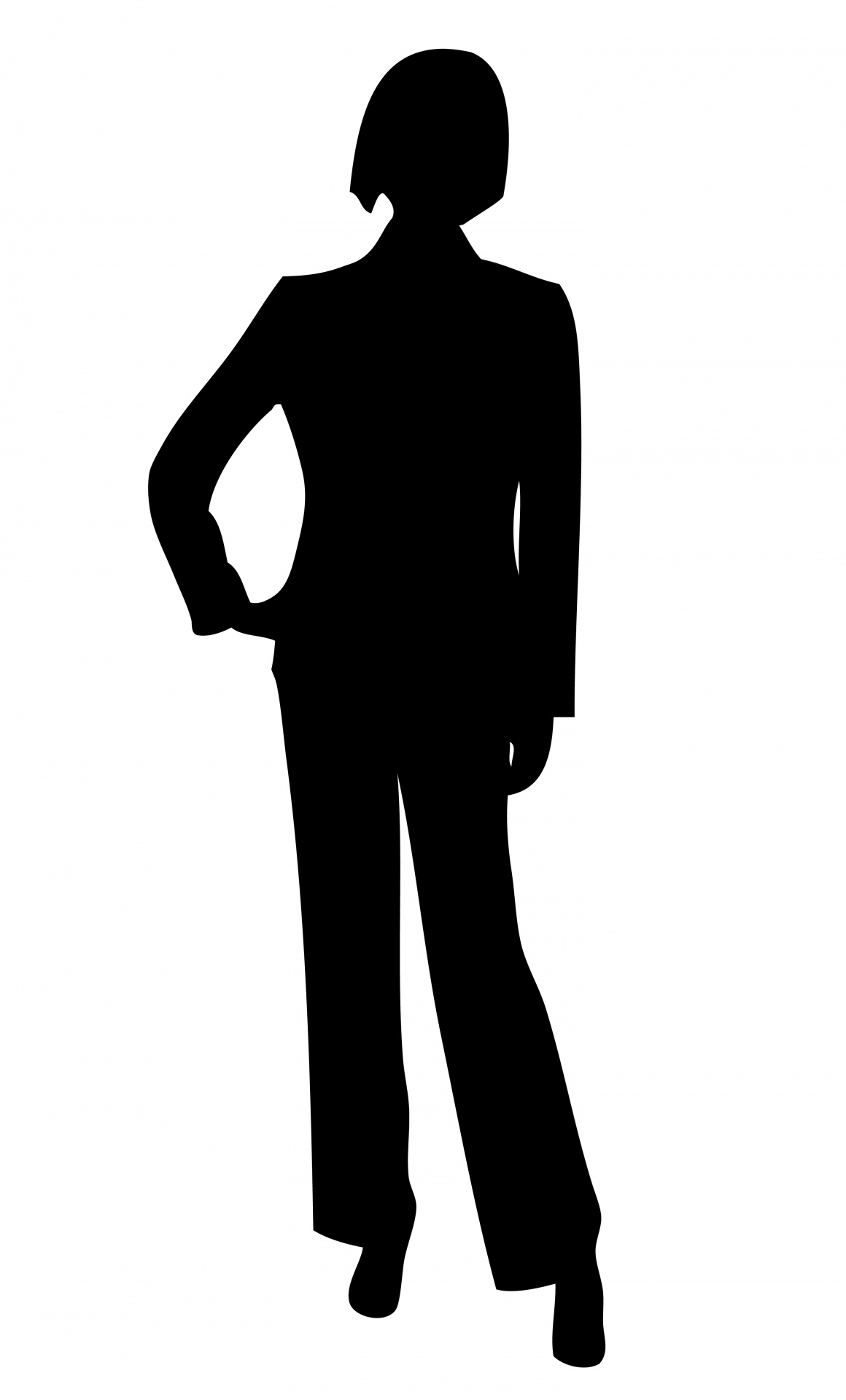 1160x1920 Professional Clipart Silhouette