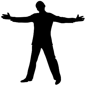 285x285 Silhouettes Of People