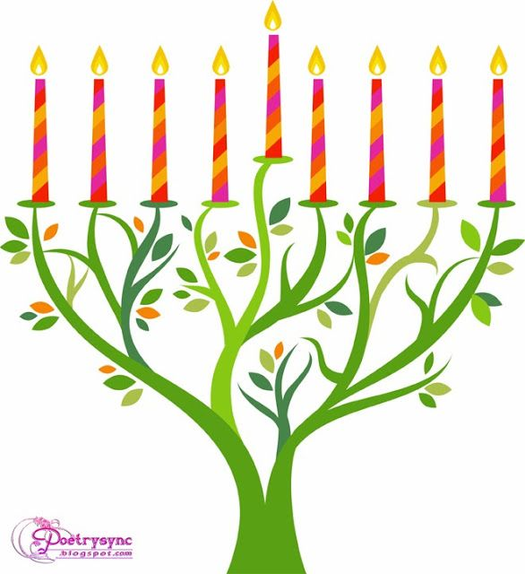 photograph relating to Printable Hanukkah Cards identified as Menorah Clipart Cost-free obtain simplest Menorah Clipart upon