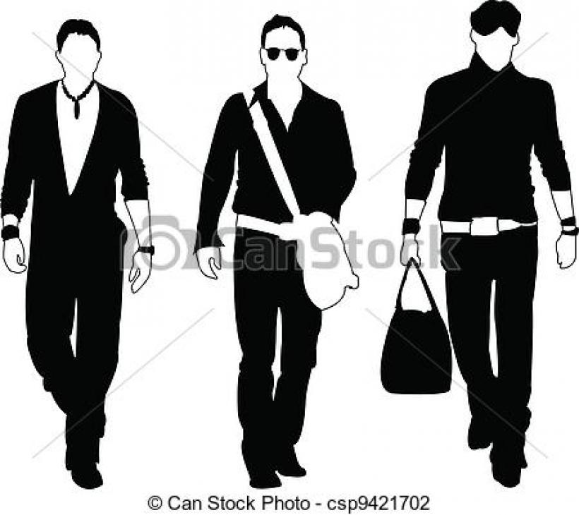 820x730 Fashion Clipart Men's Fashion