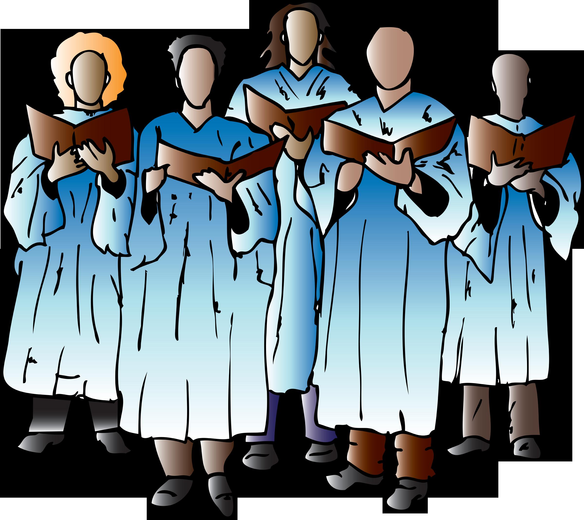 2400x2140 Christ Clipart Men's Choir