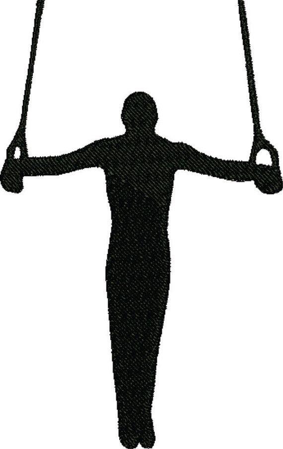 570x902 Ring Clipart Men's Gymnastics
