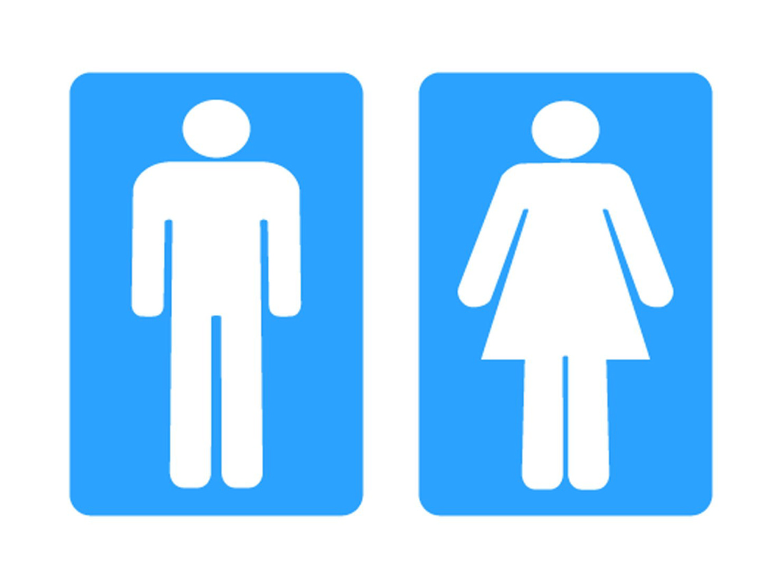 1140x855 Toilet Sign Cliparts 268407