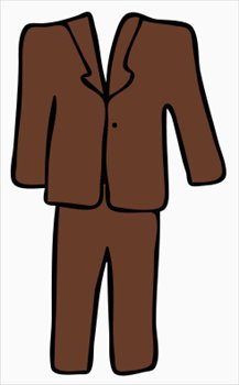 217x350 Suit Clipart Men's Suit