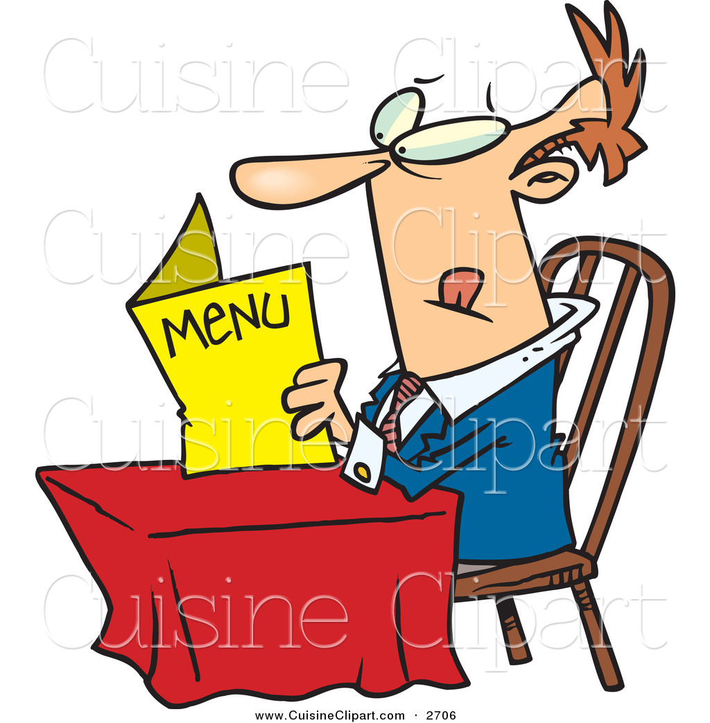 1024x1044 Cuisine Clipart Of A Confused White Man Sitting