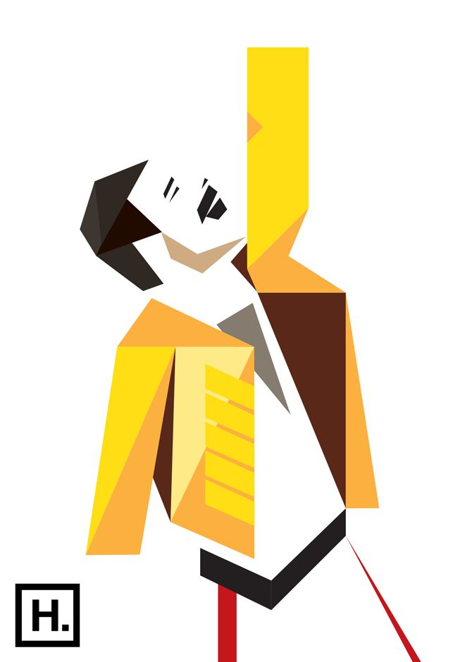 670x940 Freddie Mercury Clipart
