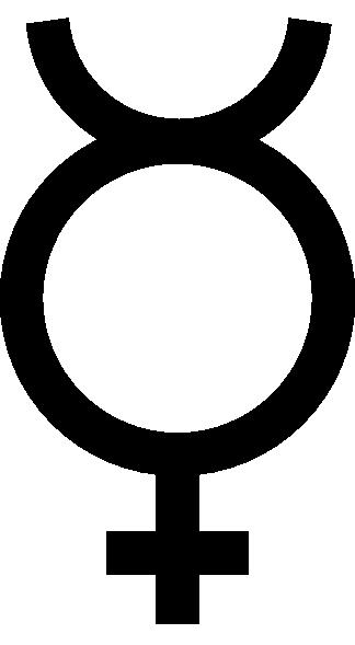 324x589 Mercury Symbol Clip Art
